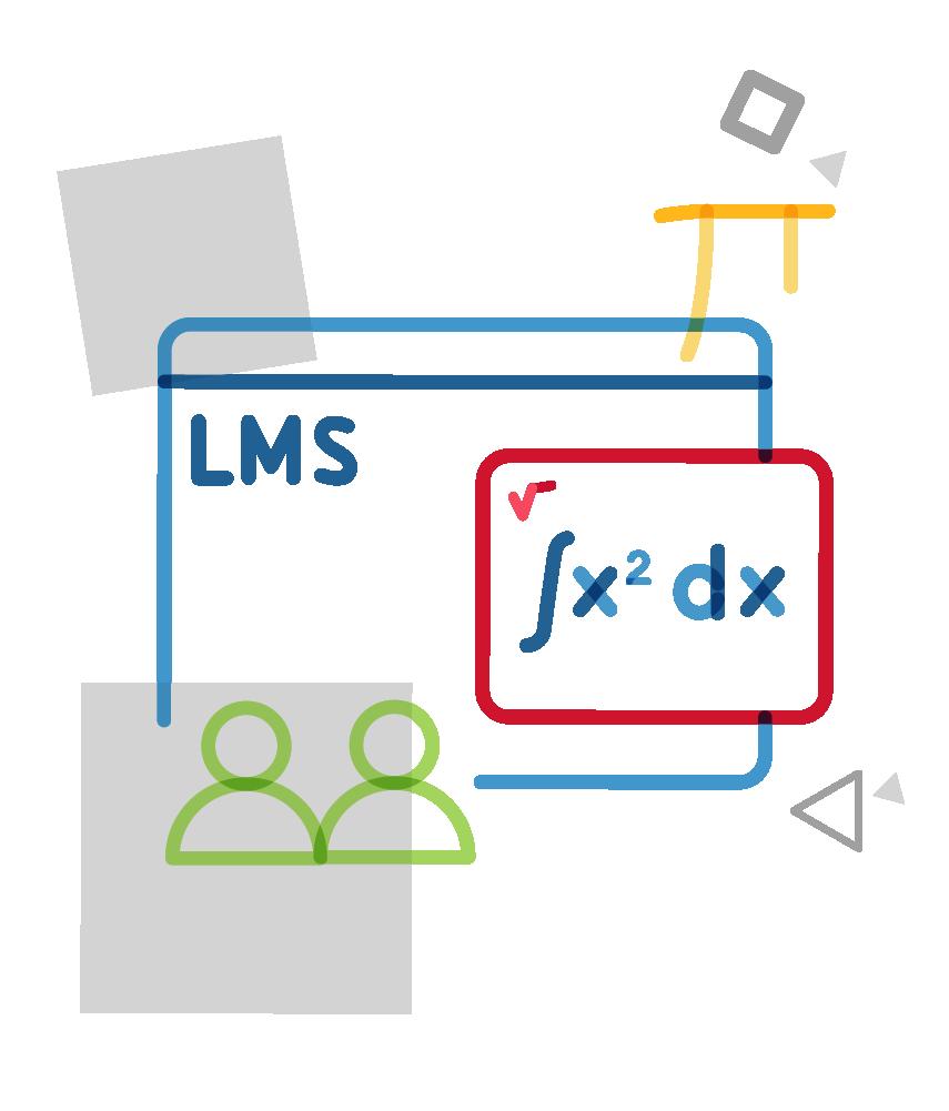 mathtype in LMS platform illustration