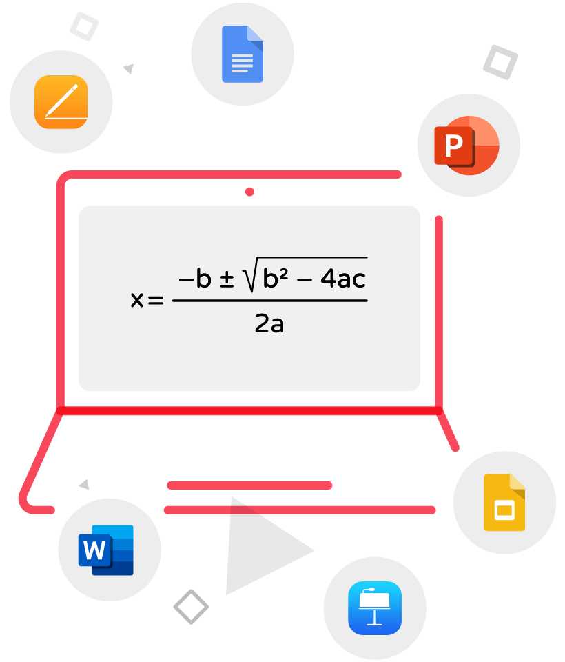 MathType for Office Tools